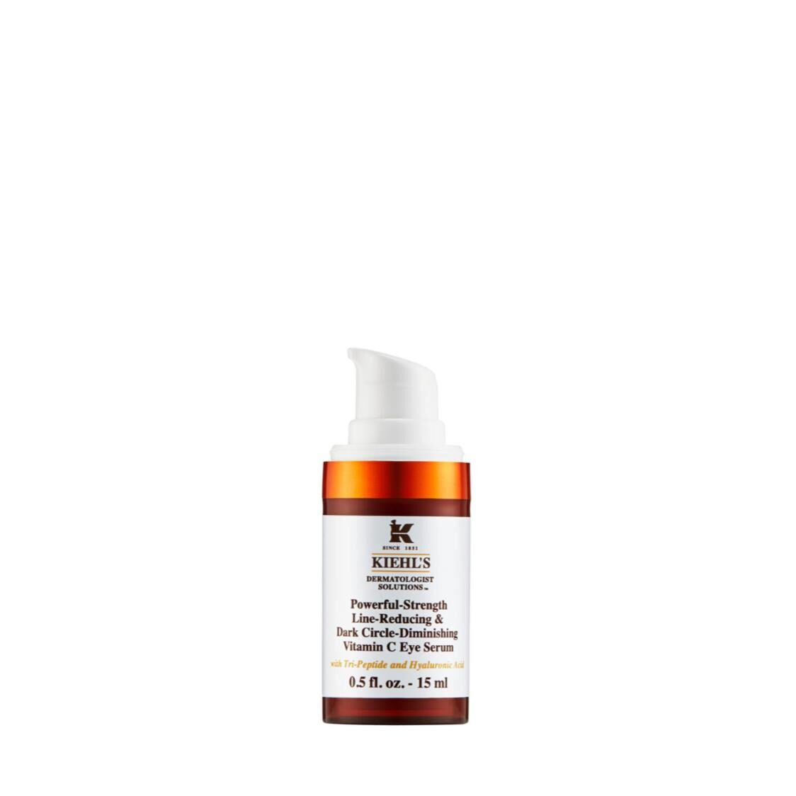 Kiehls Since 1851 Powerful-Strength Line Reducing  Dark Circle Diminishing Vitamin C Eye Serum 15ml