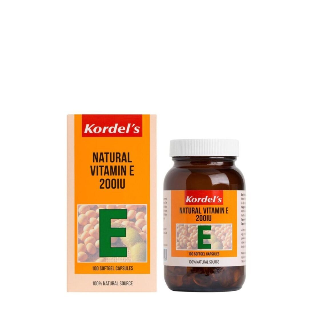 Natural Vitamin E 200IU 100s