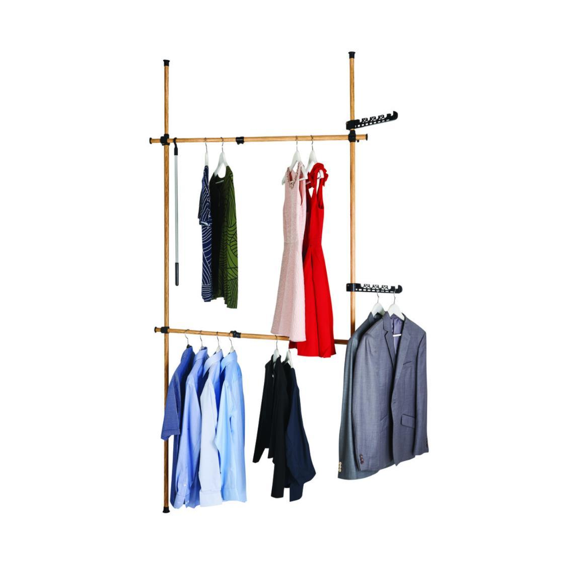 Bedroom combination hanger