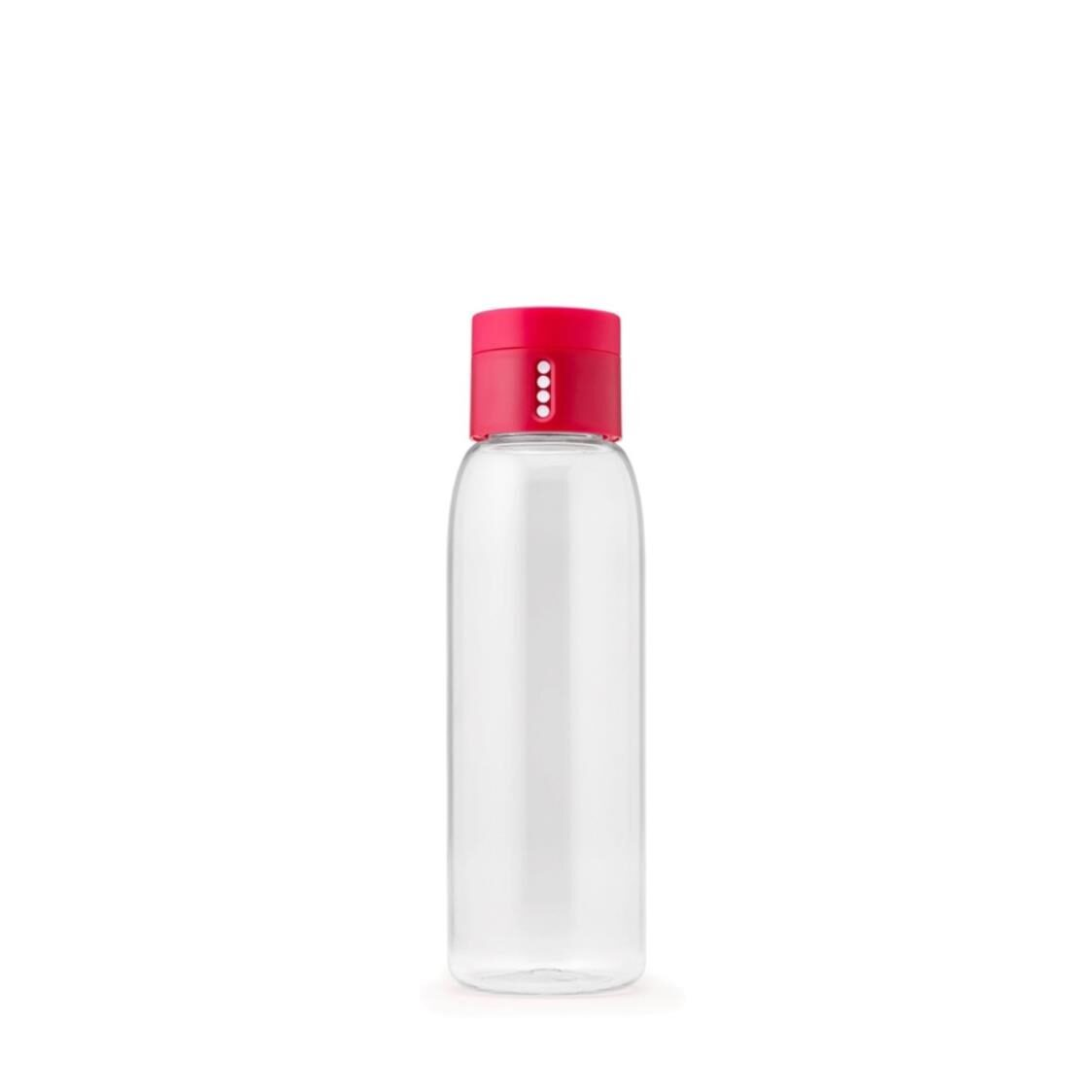 Dot Hydration Tracking Water Bottle Pink