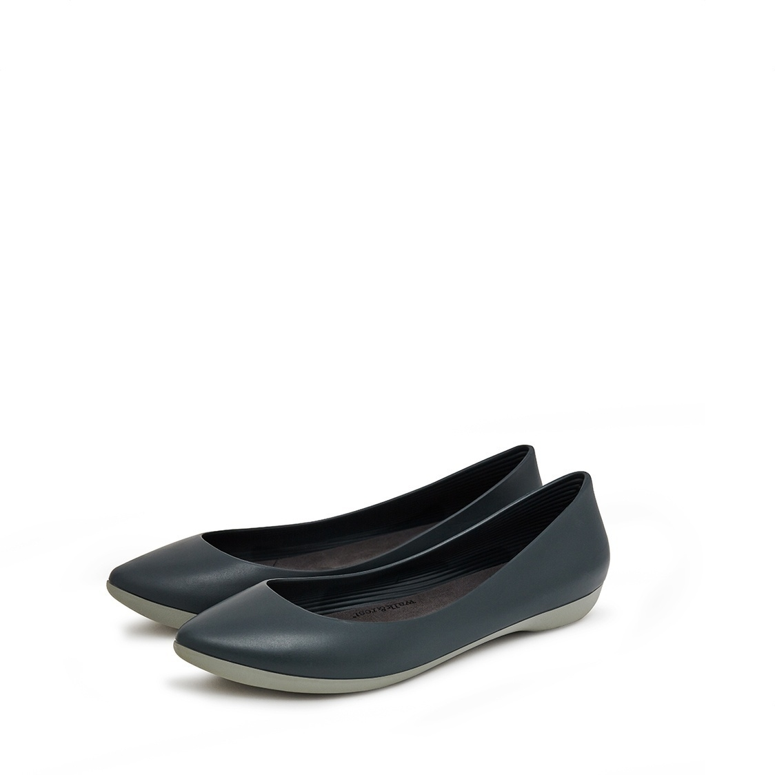 F2 Flat-Pointed Heel height 2cm Teal Green