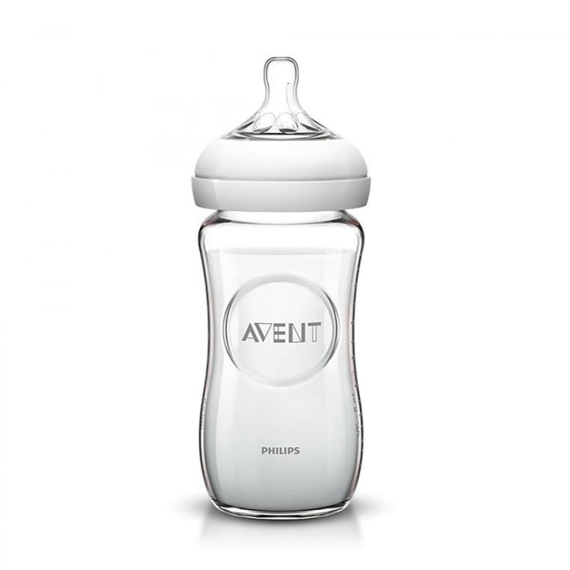 Philips Avent Natural Glass Bottle Single Pack