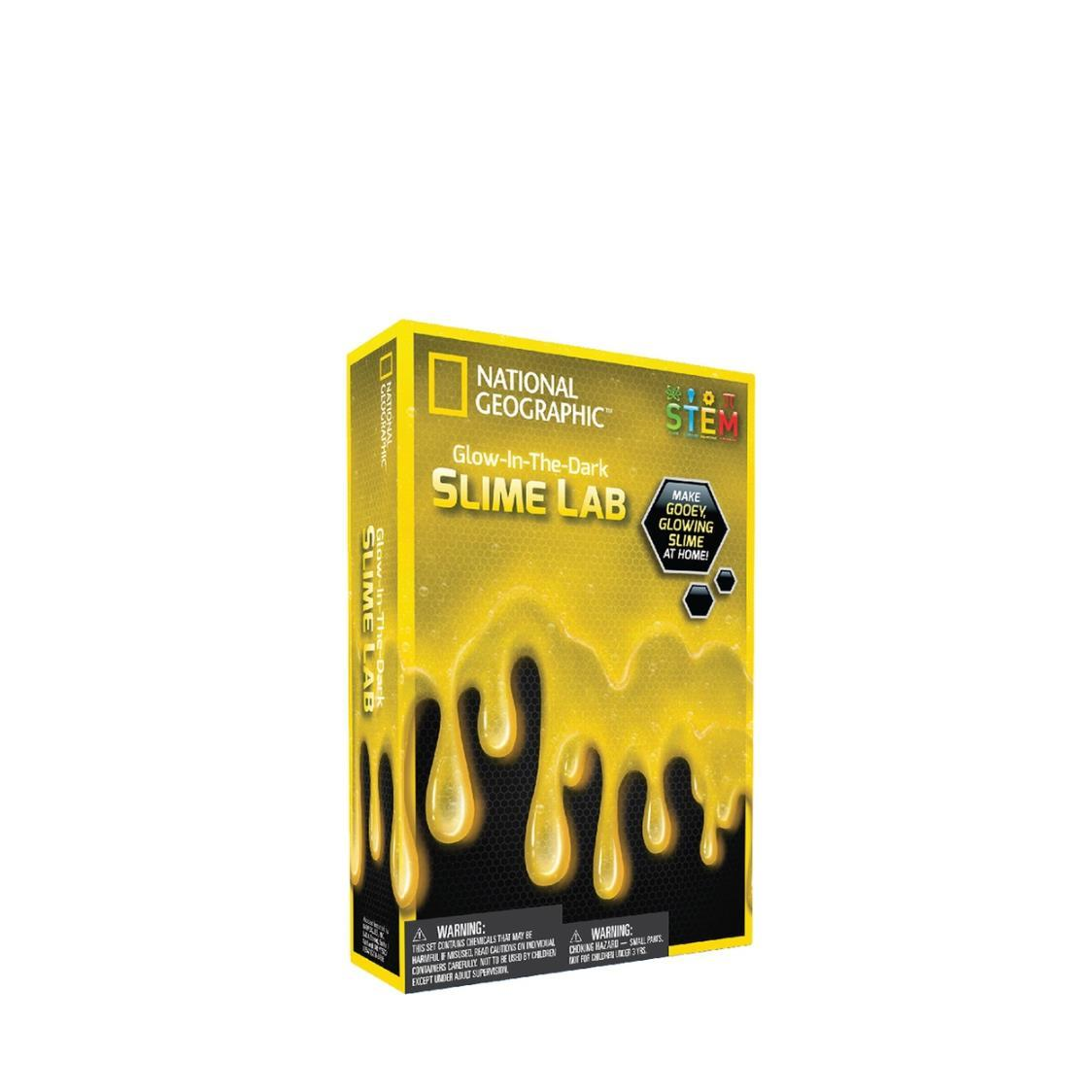 Glow In The Dark Slime Lab Yellow