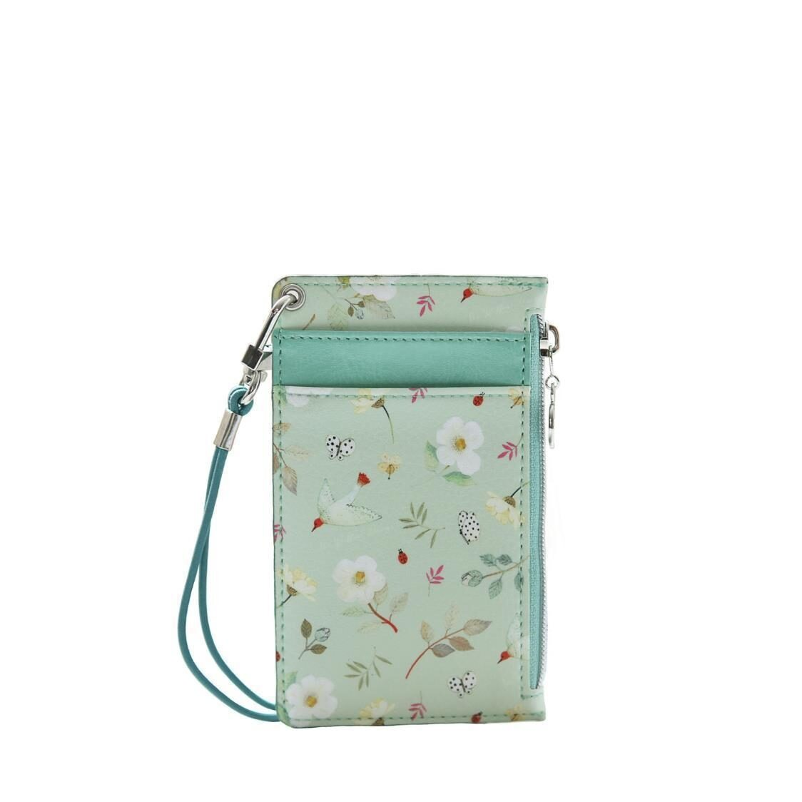 The Willow Story Neck Zipper Case ver3 Mint