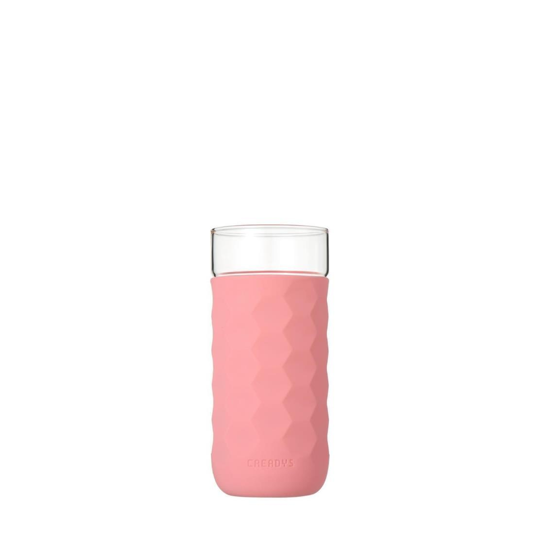Honey Comb Tumbler Pink 380ml