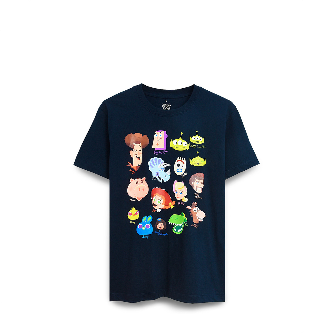 Toy Story Characters Heads T-Shirt Navy DNY1063