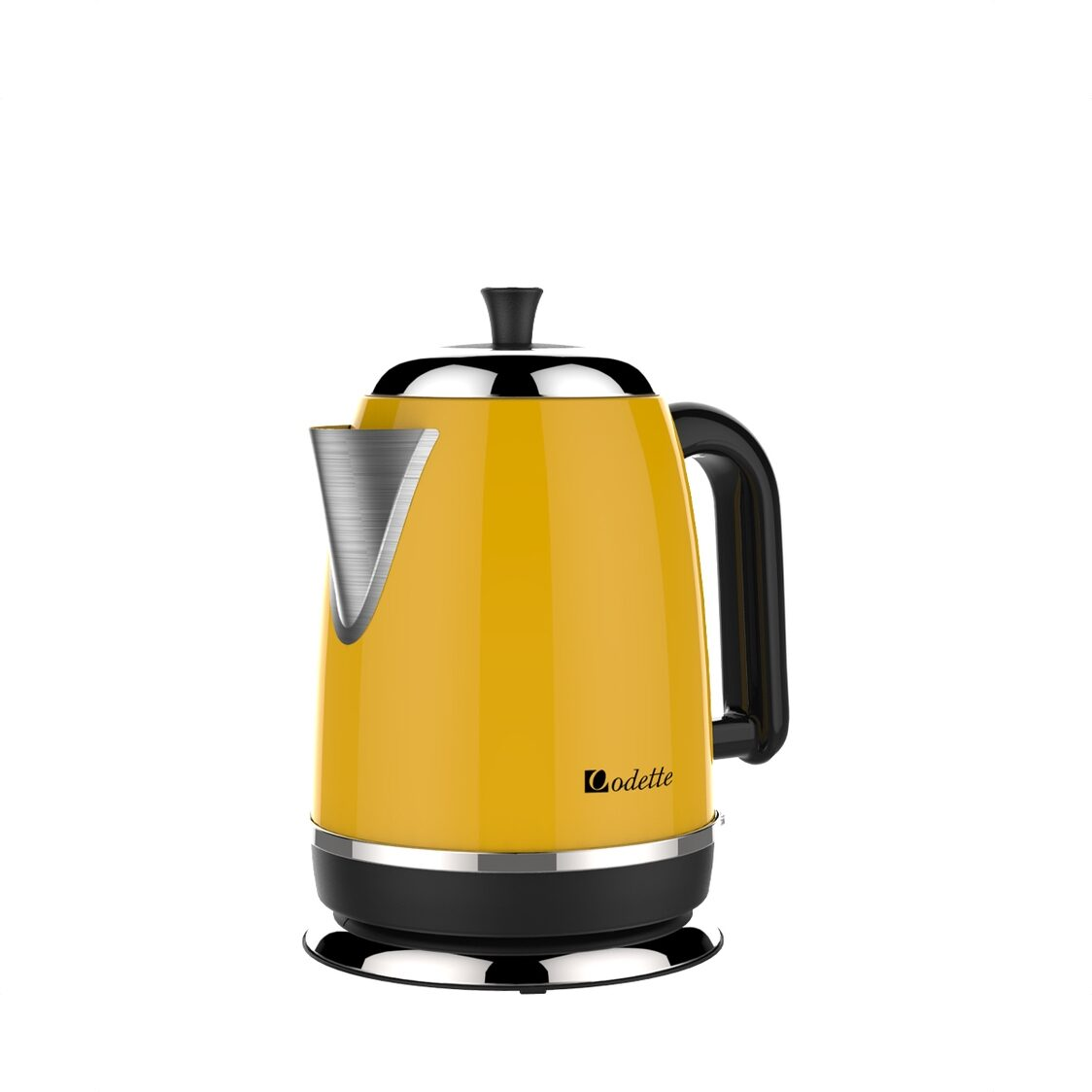 17L Retro Design Electric Kettle Yellow