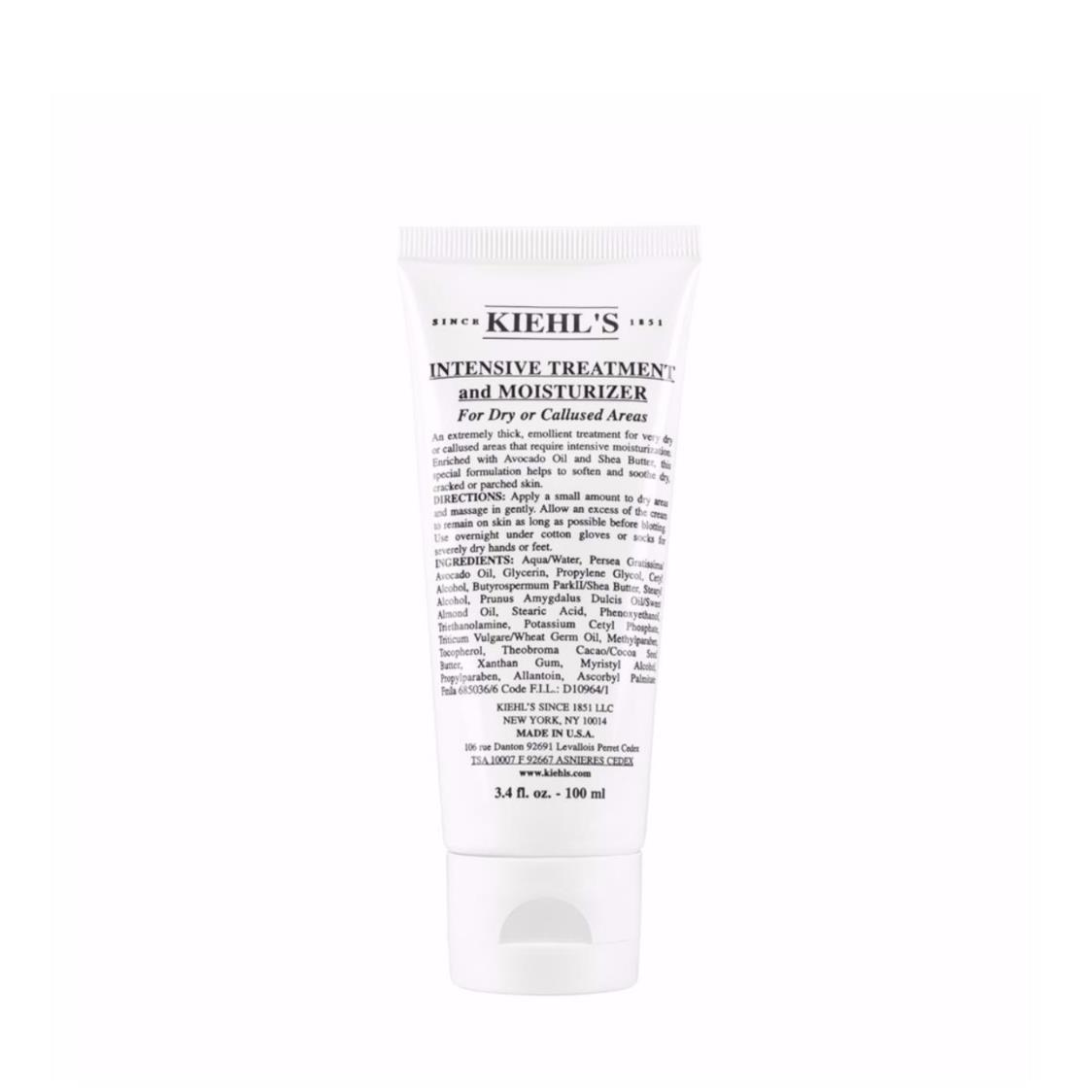 Kiehls Since 1851 Intensive Treatment And Moisturizer For Dry And Callused Areas 100ml