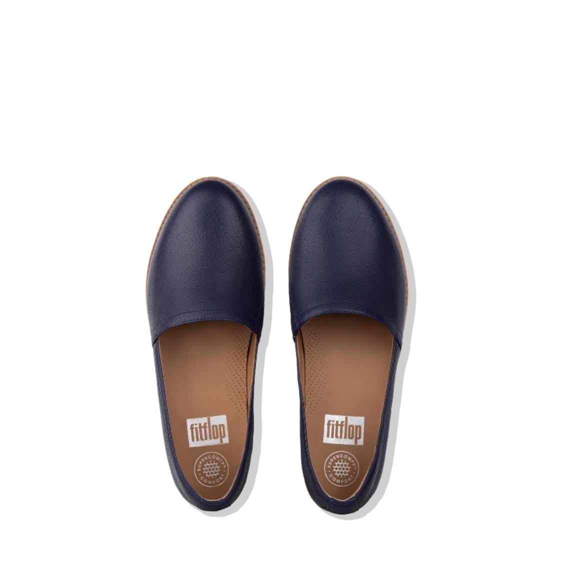 Casa Leather Loafers Royal Blue