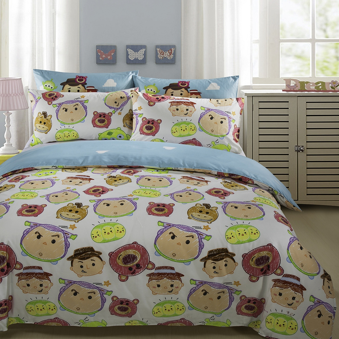 Up We Go B Fitted Sheet Set