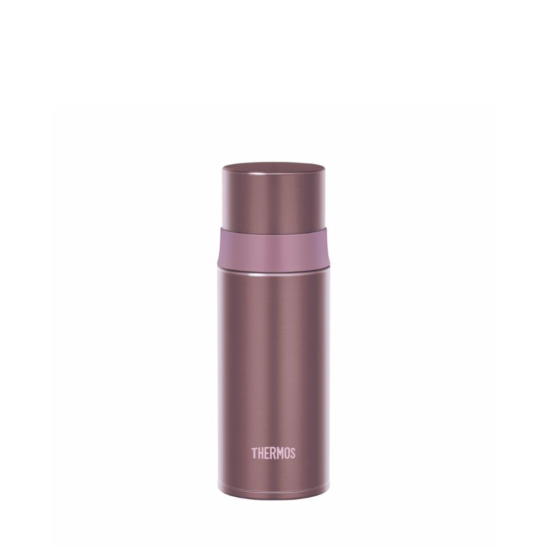 Stainless Steel Bottle with Stopper Pink 350ml