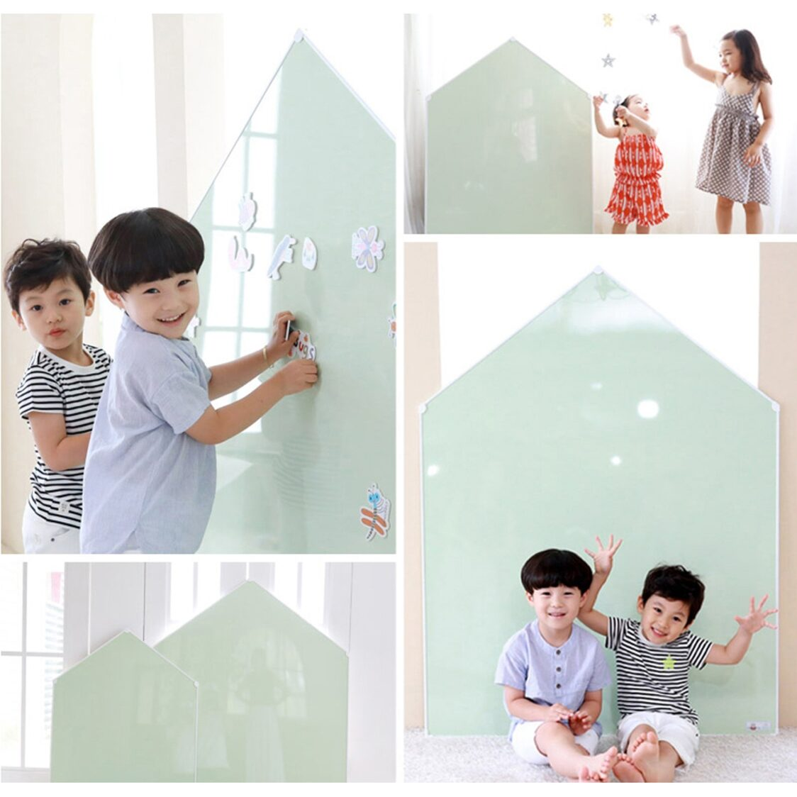 Premium Magnetic Board - Jeje House L - Green
