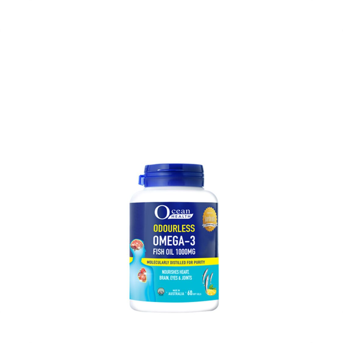 Odourless Omega 3 1000mg 60s