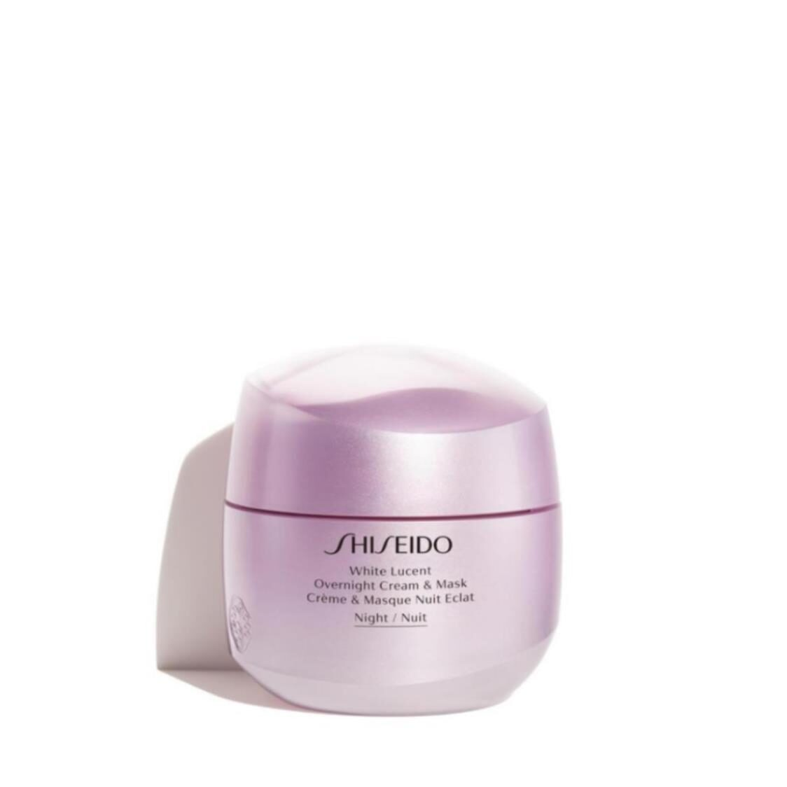 Shiseido White Lucent Overnight Cream and Mask