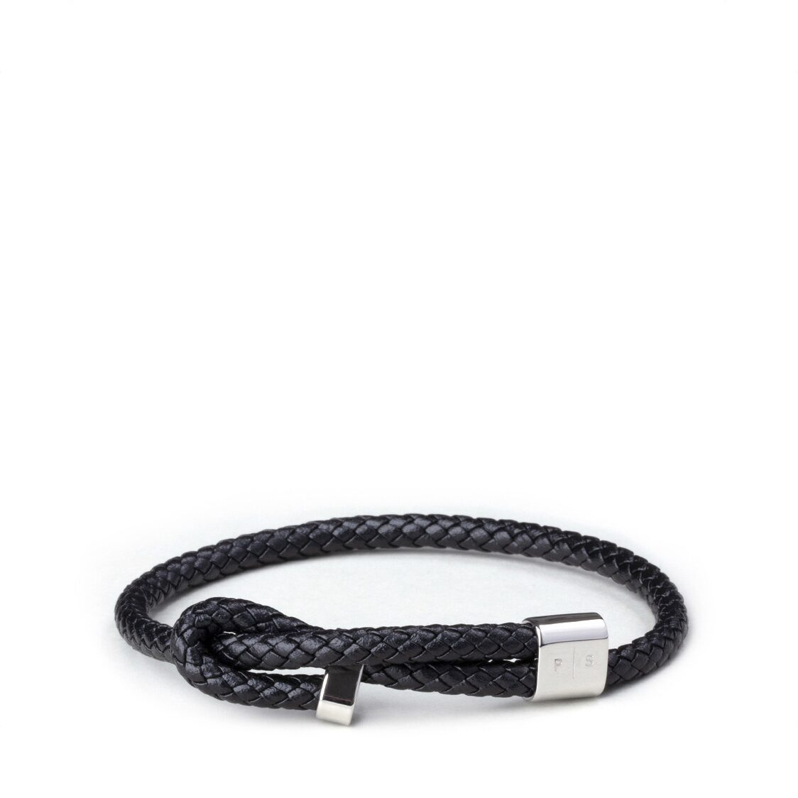 Wve Bracelet - Black Leather