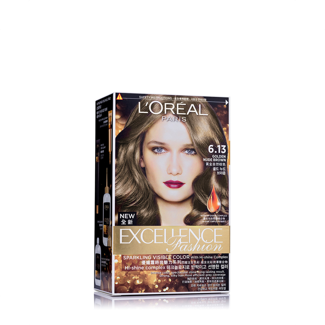 Excellence Fashion Golden Nude Brown 613