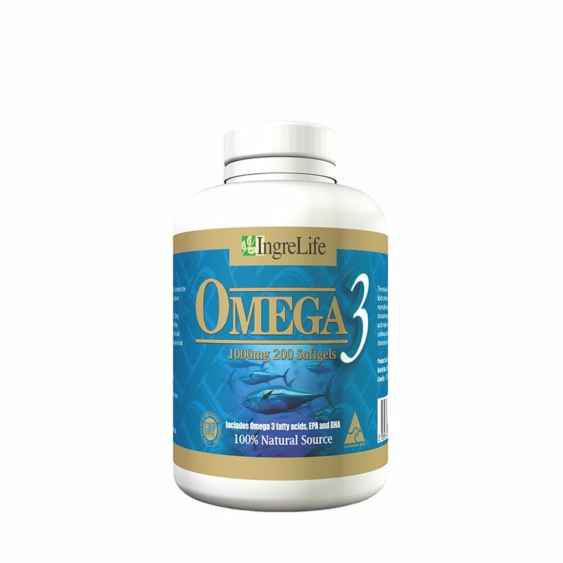 Omega 3 200 Softgels