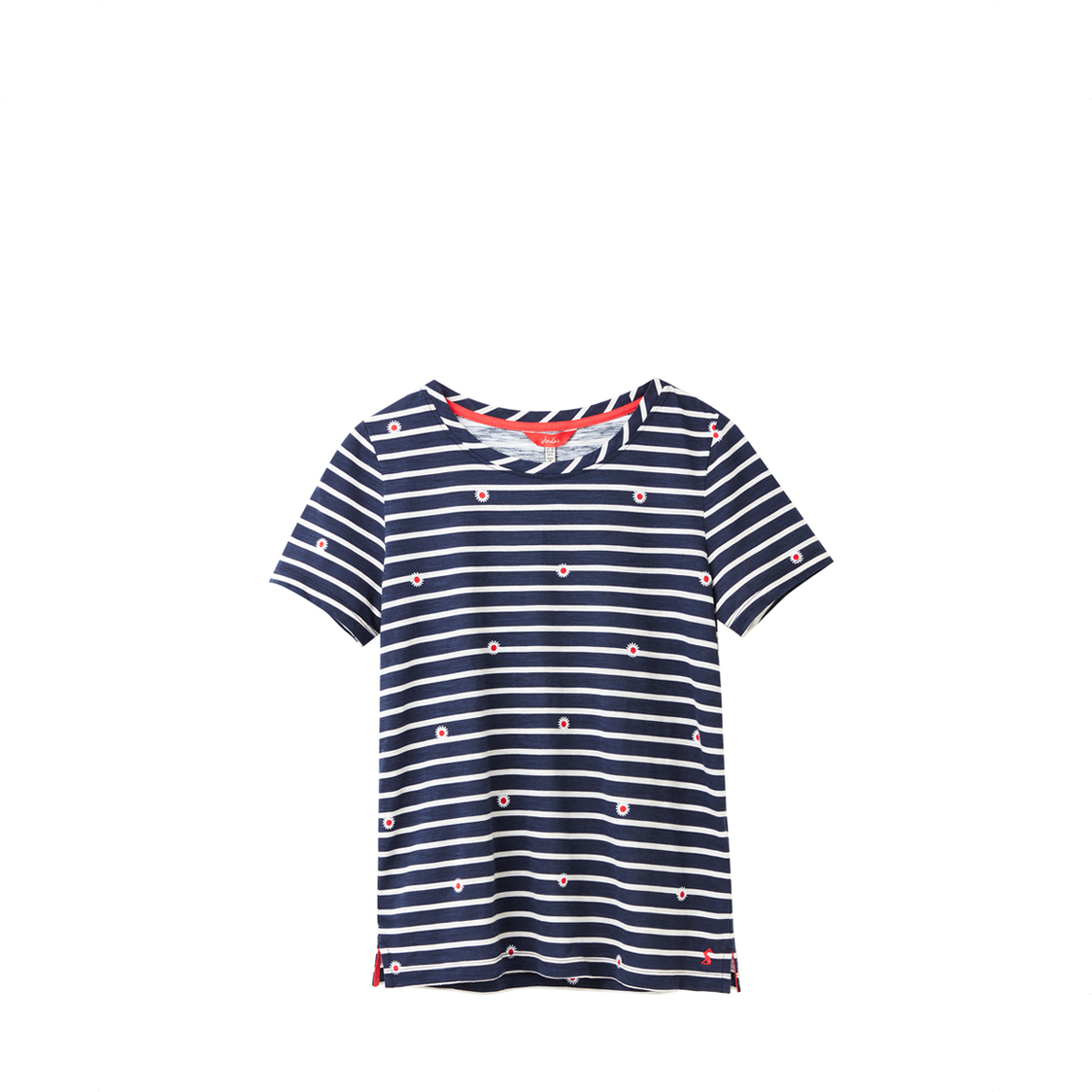 Tom Joule Carley Classic Crew Neck Top Daisy Stripe