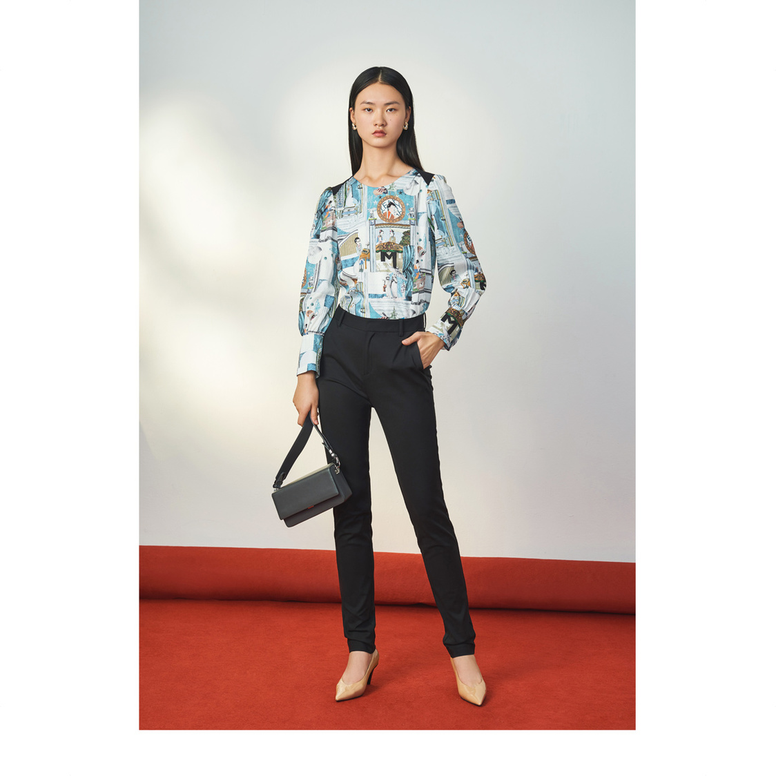 Lily Printed Blouse