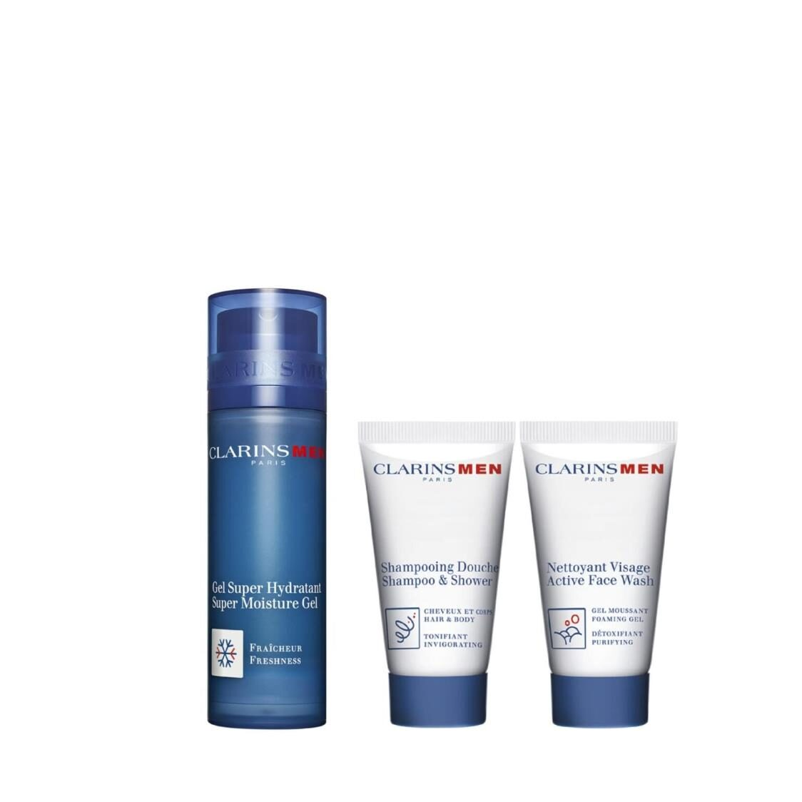 Clarins Men Hydration Essentials Set