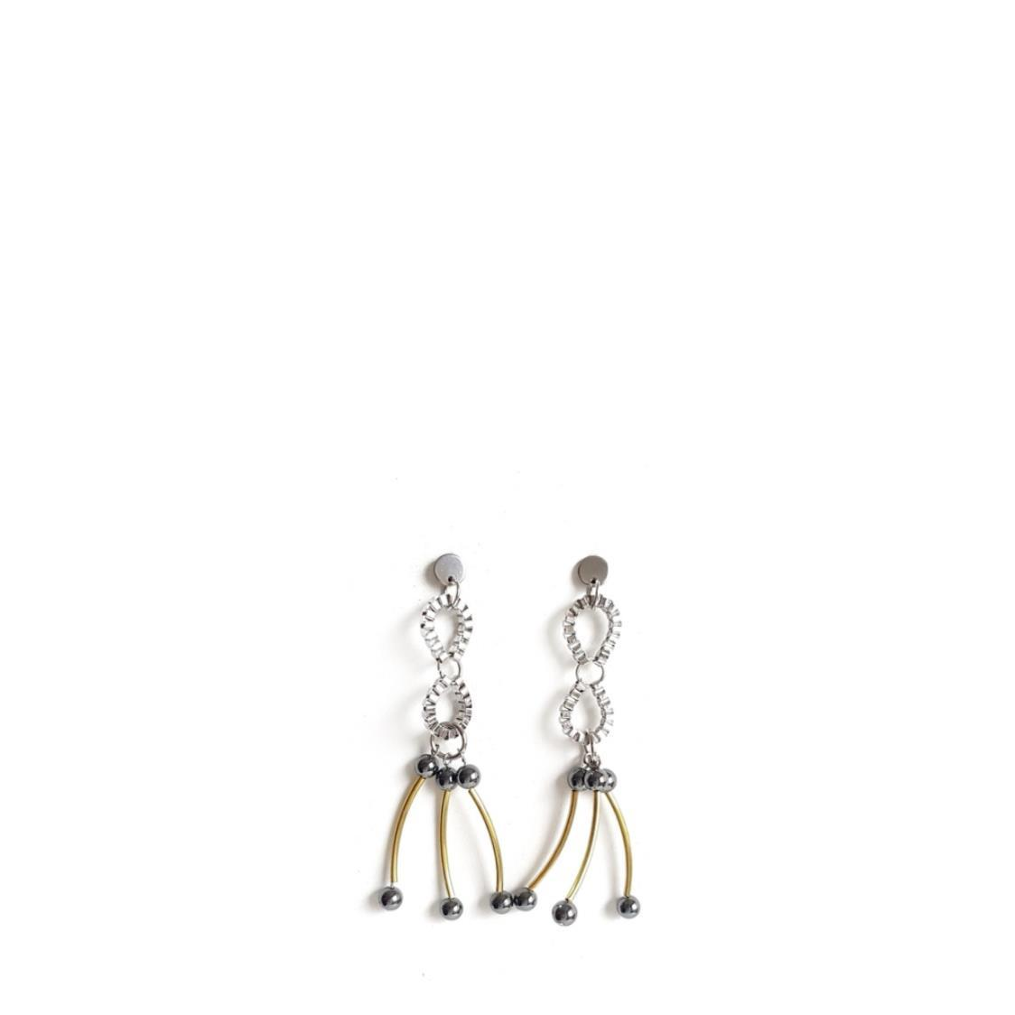 CERA Earrings SILVER