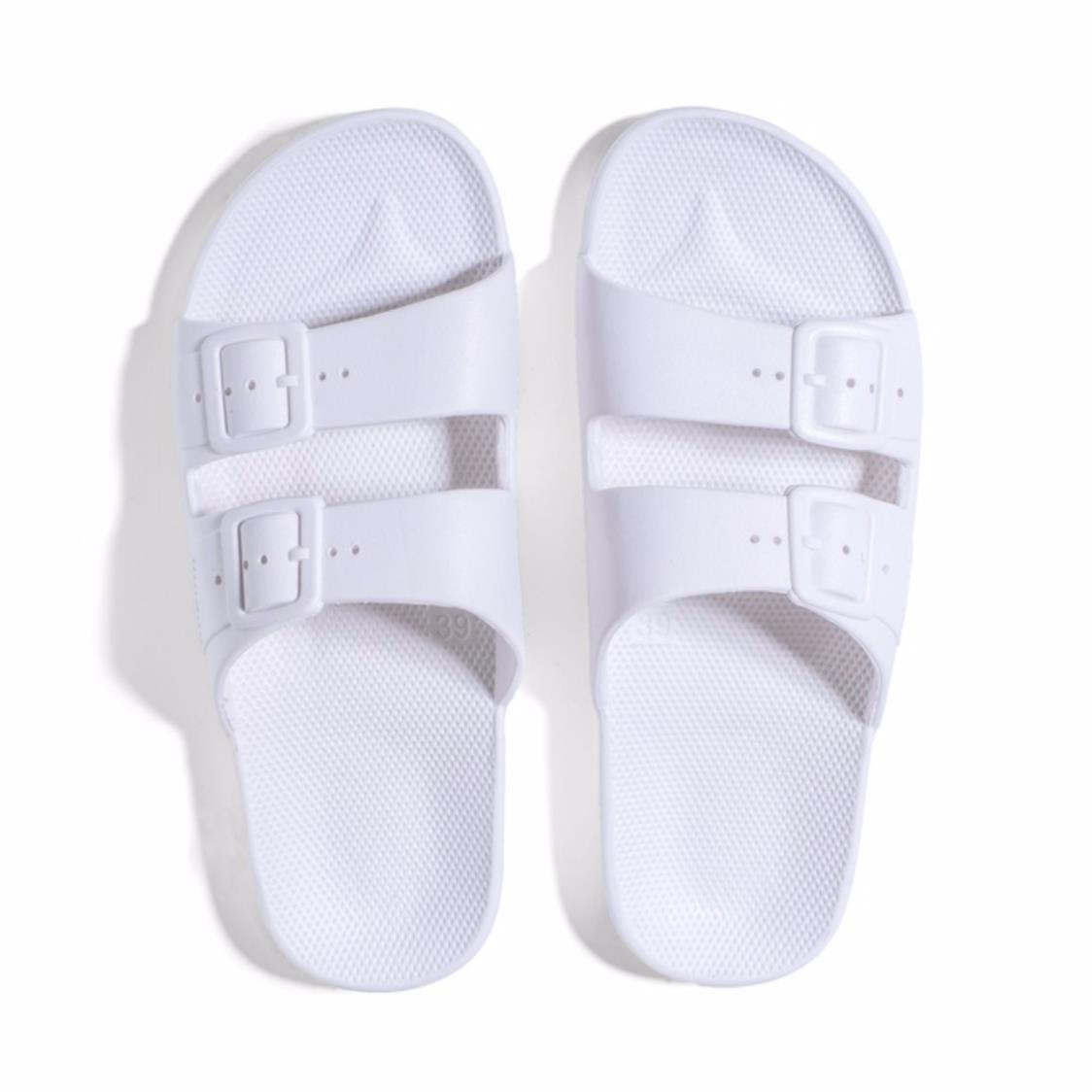 Freedom Slippers White