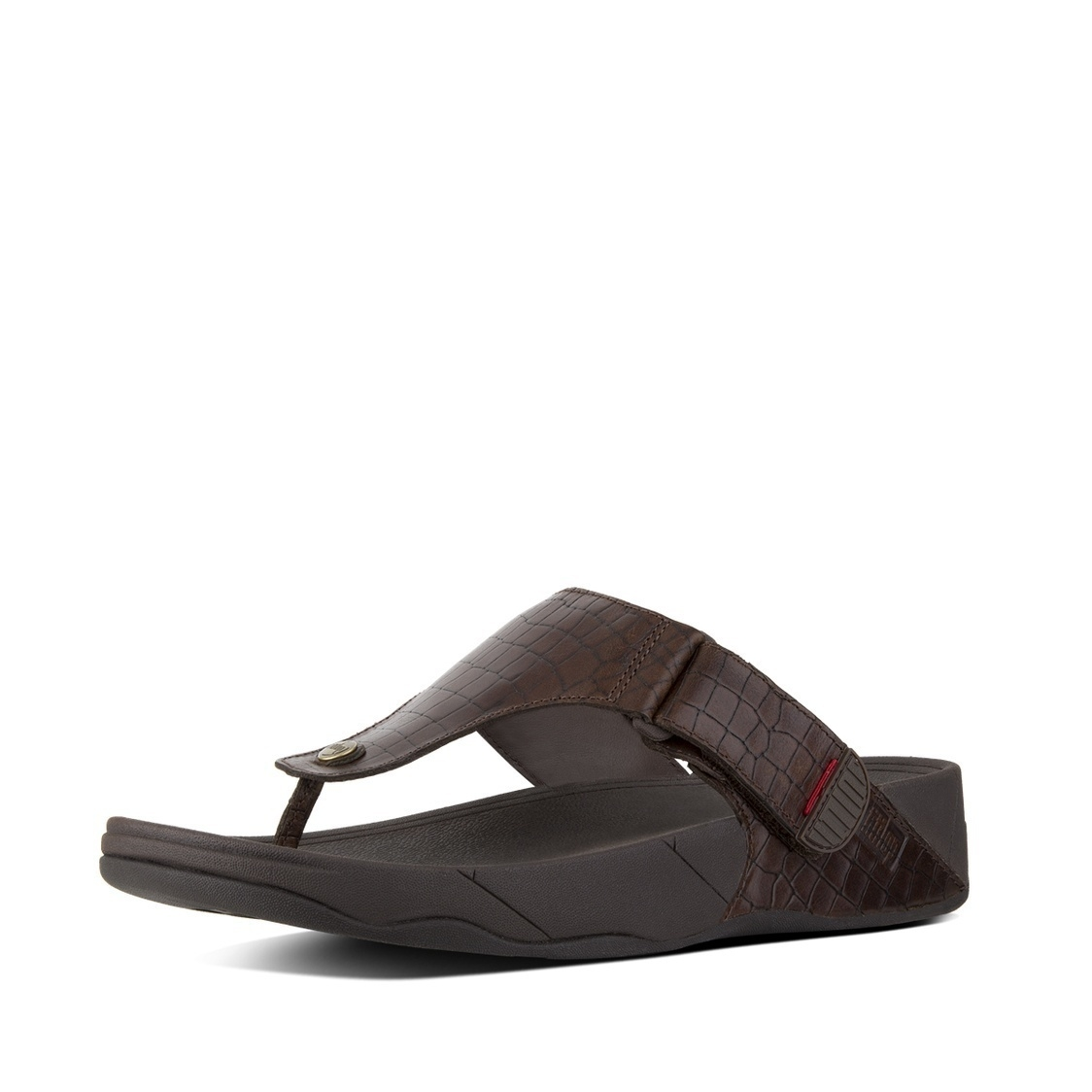 Bando Leather Toe-Thong Sandals