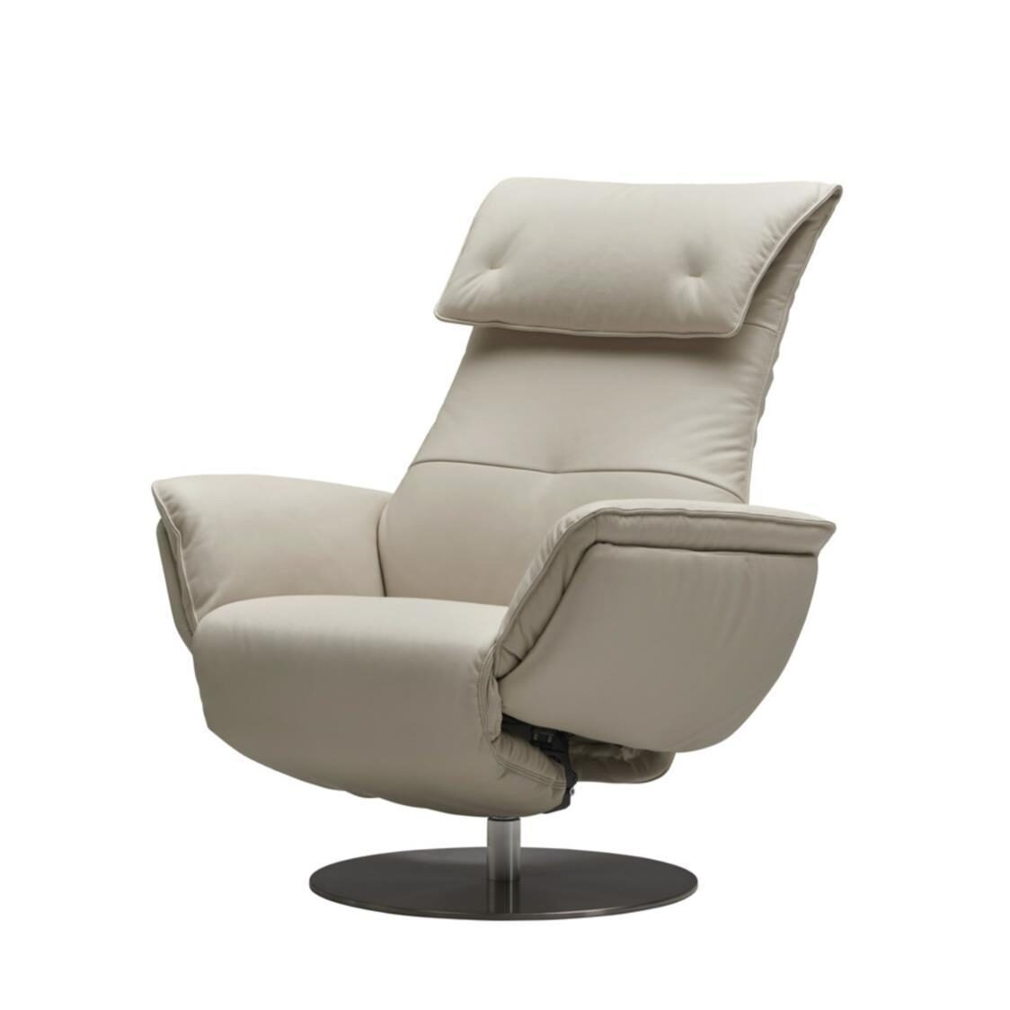 Wolke Chair - Full Leather L660 Powder