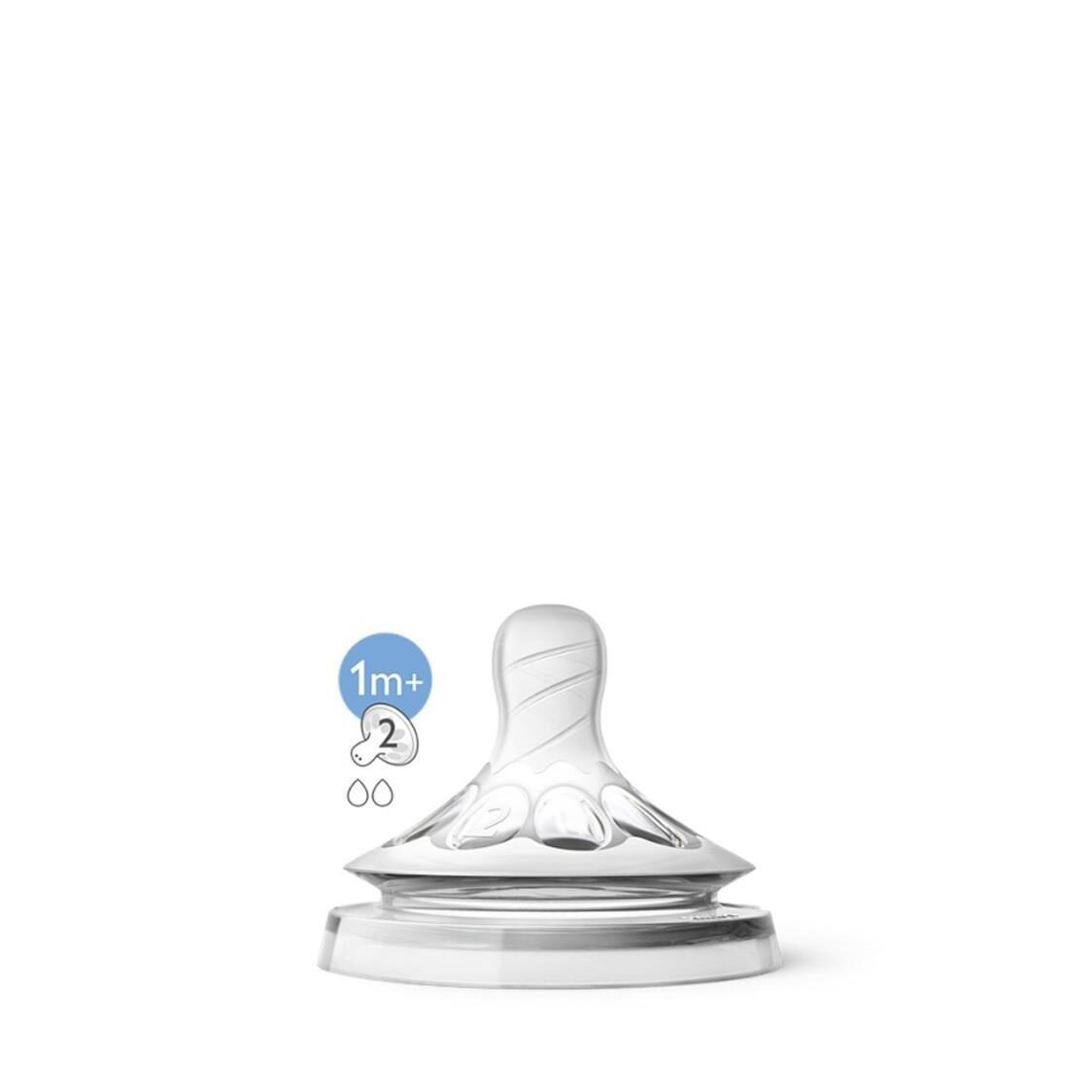 Philips Avent Natural Teats 1M 2H