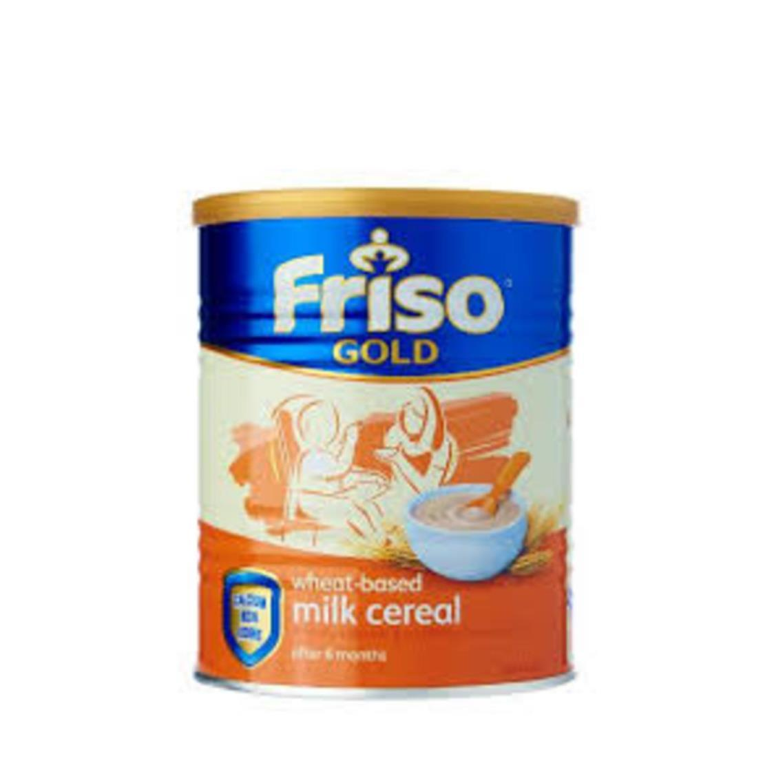 Friso Gold Wheat Milk Cereal