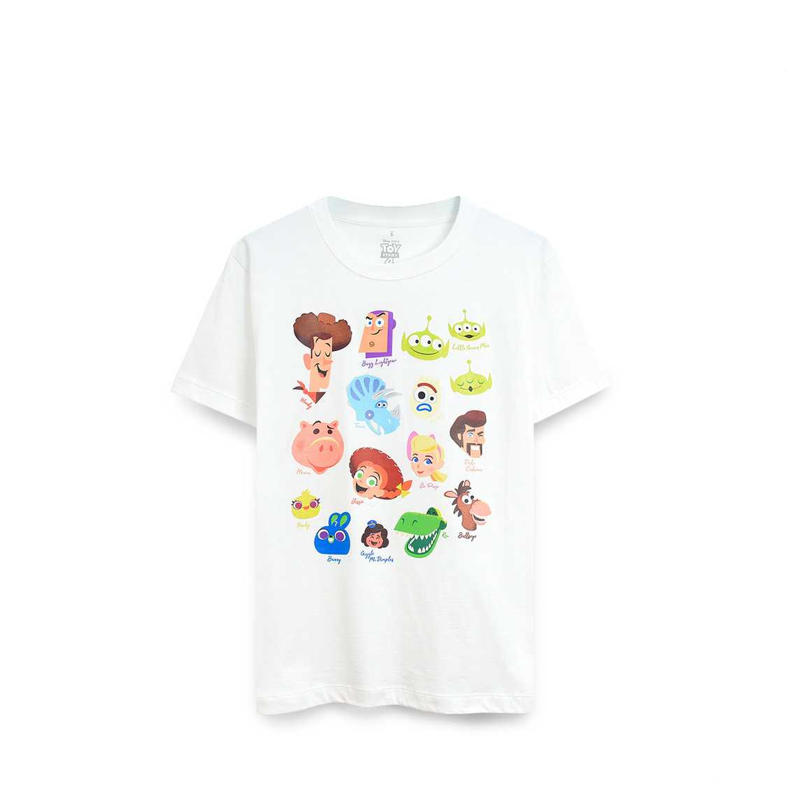 Toy Story Characters Heads T-Shirt White DNY1063