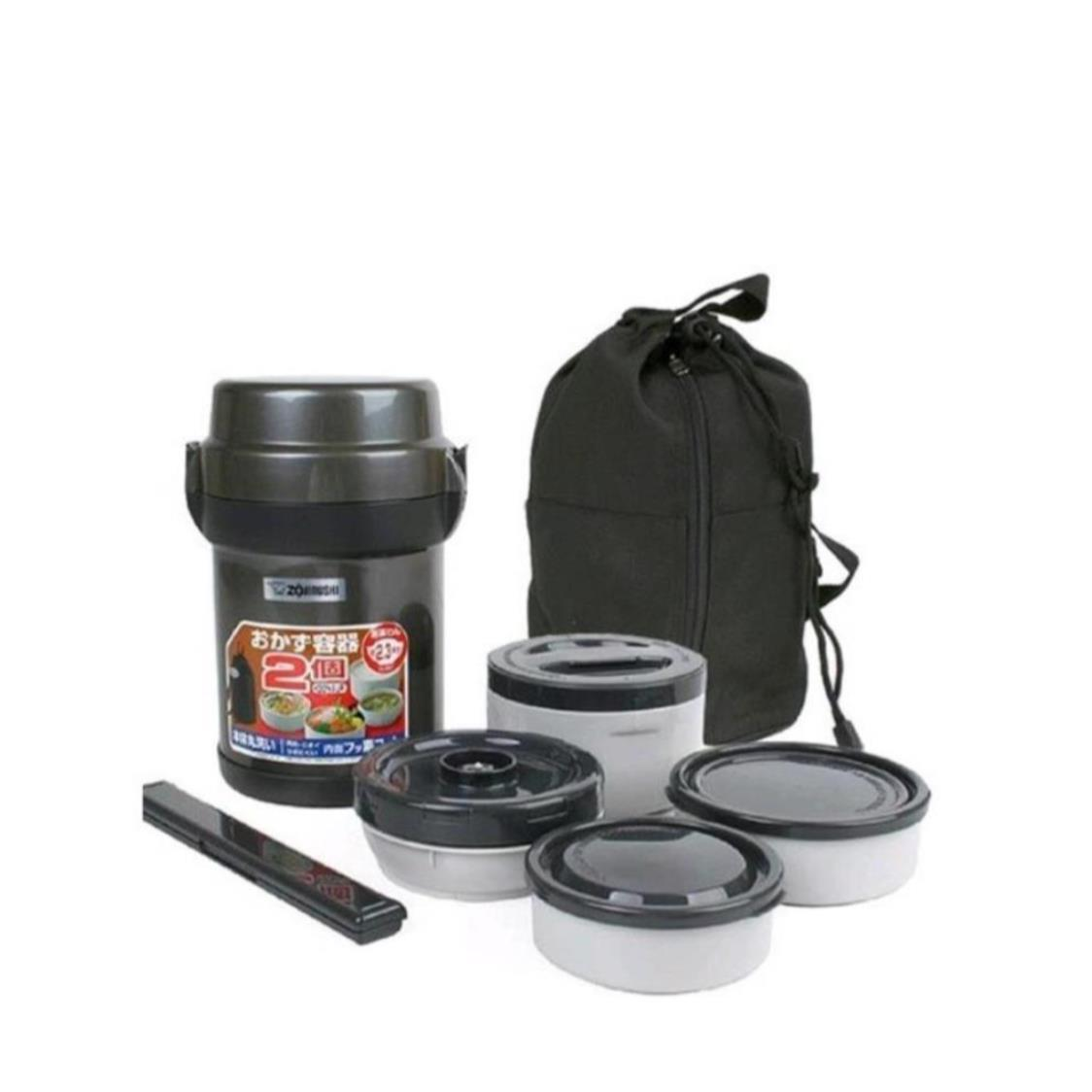 Lunch Kit with Bag Grey 123L