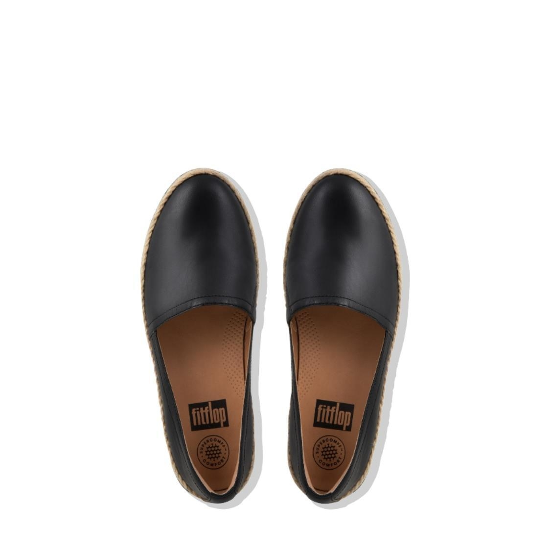 Casa Leather Loafers Black