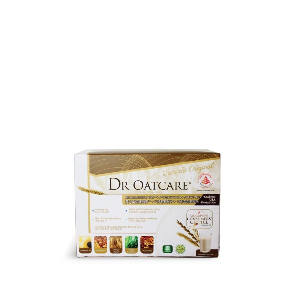 Dr Oatcare Box 25g X 30 Tablets