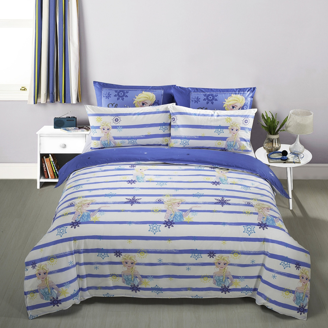 Summer Chill B Fitted Sheet Set