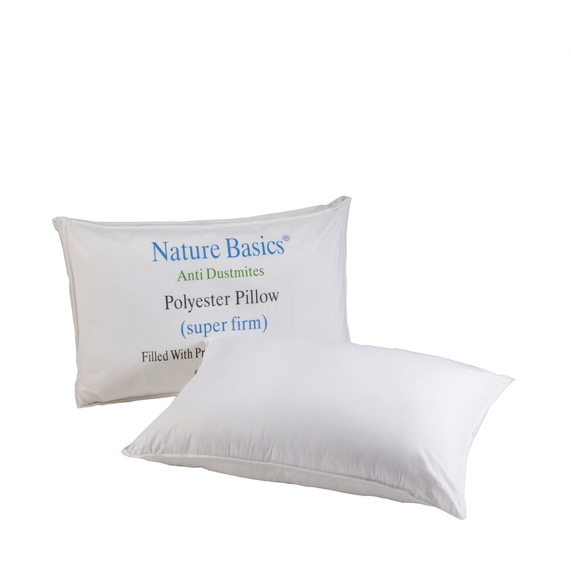 Anti Dustmite Polyball Super Firm Pillow