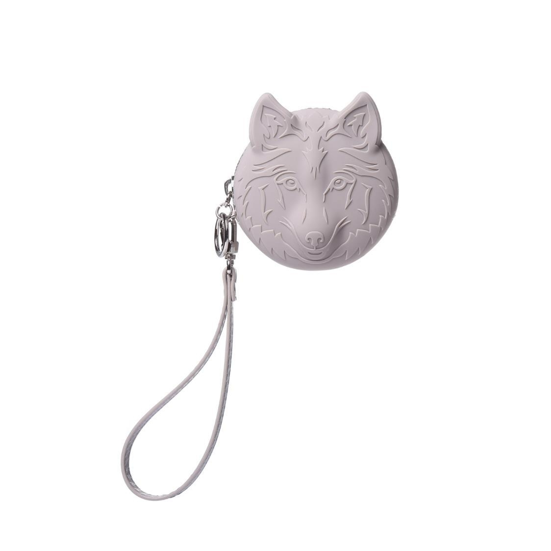 Silicone Coin Pouch Grey