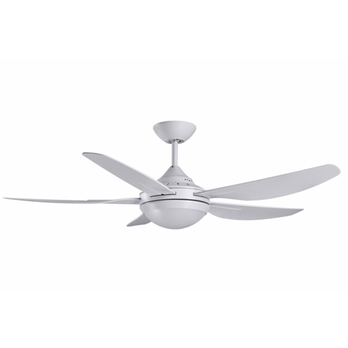 Mandurah Ceiling Fan With Remote And Tri-Color Led Light Kit White 48