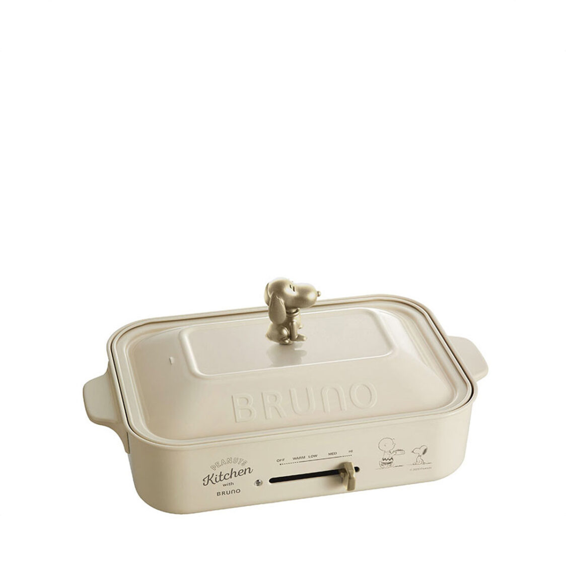 Bruno x Snoopy Compact Hotplate