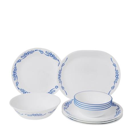 CORELLE CORELLE 10pc Dinner Set Blue Cornflower