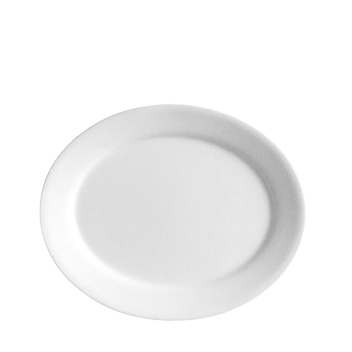 Serving Platter Winter Frost White