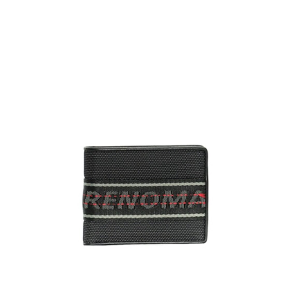 Renoma Mitchell Centre Flap Cards Wallet Black