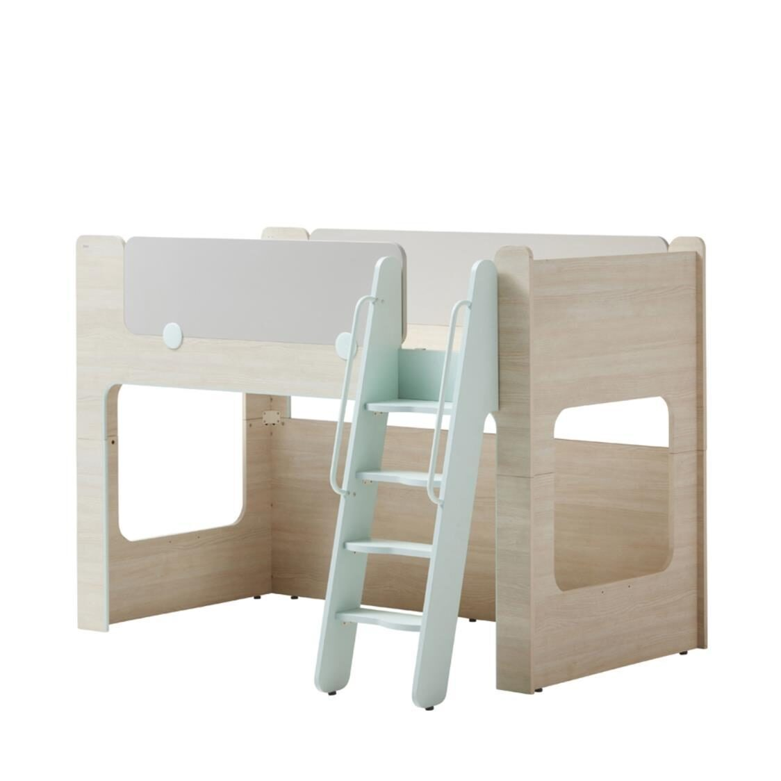 Cabin Bunk Bed Ladder OSLA Olmless Ruster Light Aqua