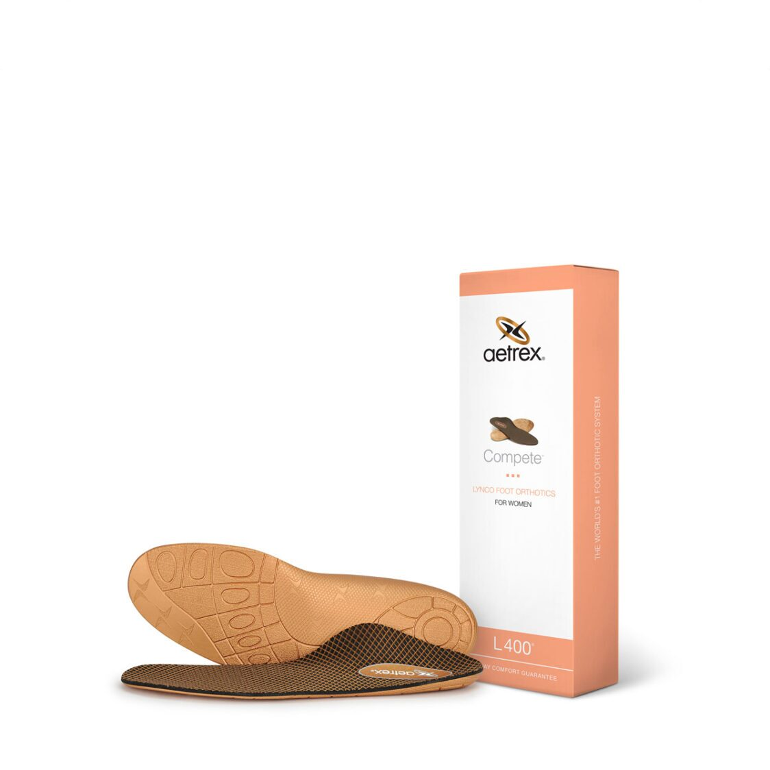 Aetrex Womens Compete Orthotics - Insole For Active Lifestyles L400W
