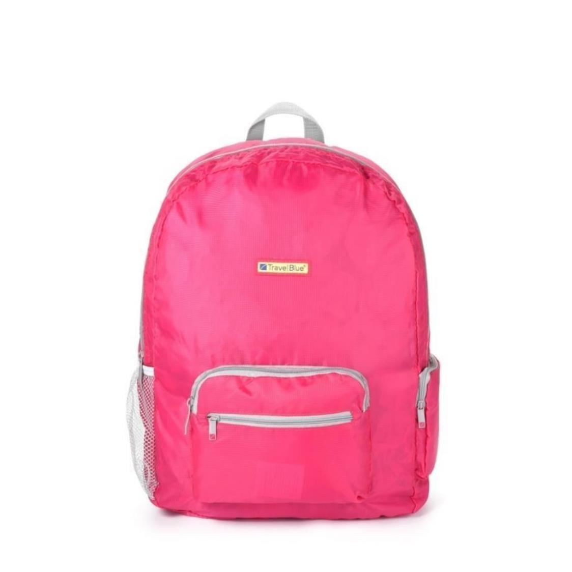 065 Foldable Backpack 20L Pink