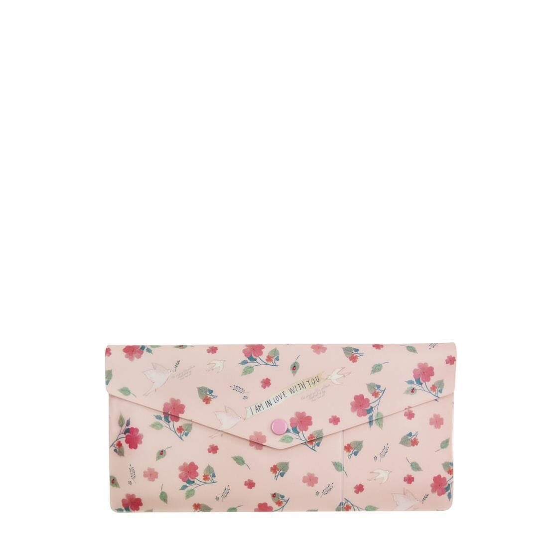 Willow Soft Passport Wallet Pink