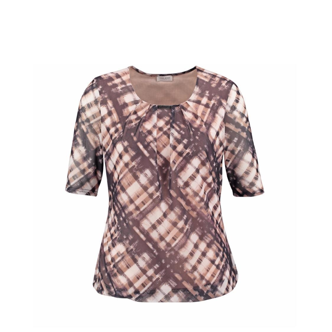 Top with Pleat Detail