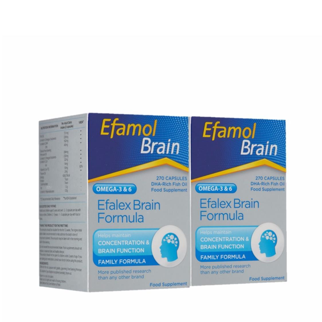 Efalex Brain Twin Pack 2X270s