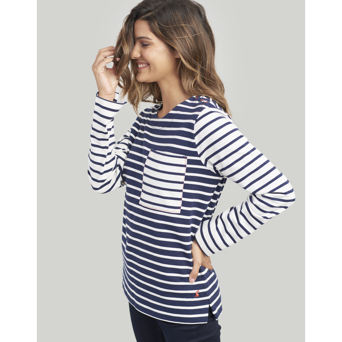 Renee Striped Sweatshirt