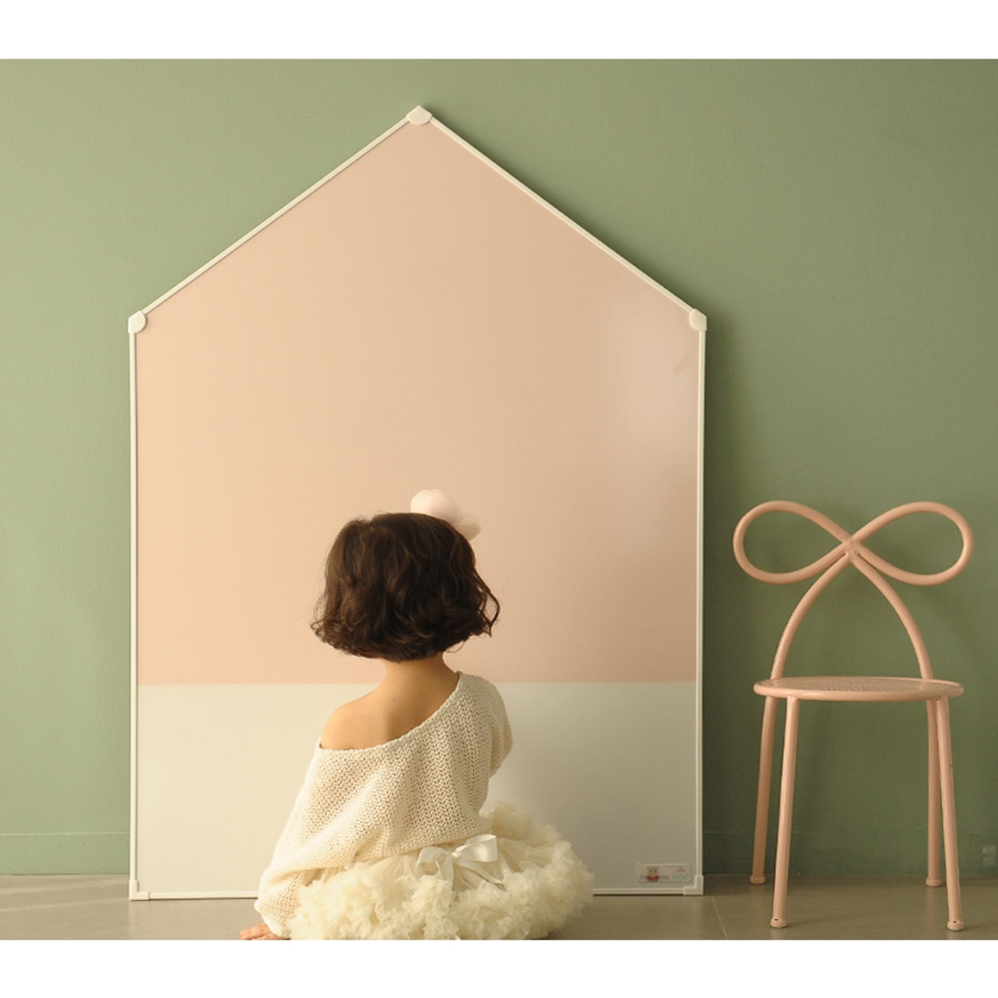 Premium Magnetic Board - Jeje House AddM - Pink